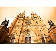 Fire Sky Cathedral Photographic Print