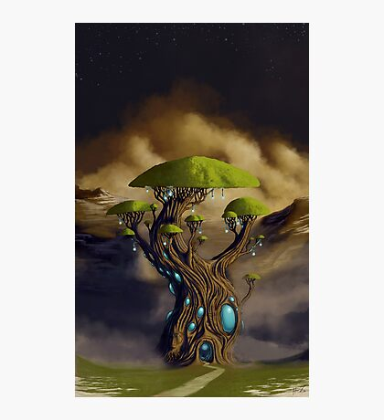 The Great Portal Tree Photographic Print