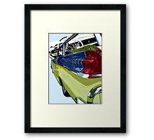 Mercury County Cruiser Framed Print