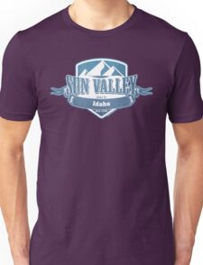 Sun Valley Idaho Ski Resort Unisex T-Shirt