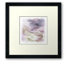 Flowing Movements Framed Print