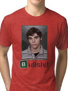 This is Bullshit. White Version. Tri-blend T-Shirt