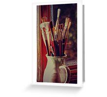 Artist jug Greeting Card