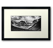 Stutfield Glacier Framed Print