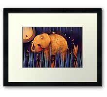daisy's night garden Framed Print