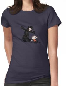 evey and V Womens Fitted T-Shirt