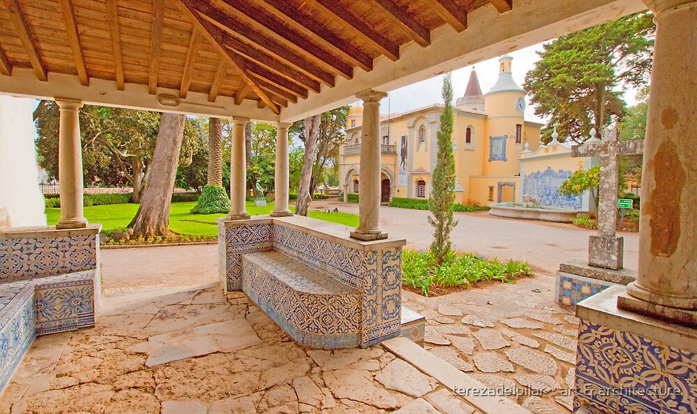 view to the palace from the chapel by terezadelpilar~ art & architecture