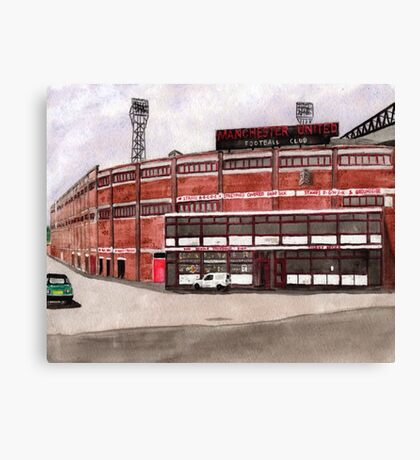 Manchester United - Old Trafford  Canvas Print