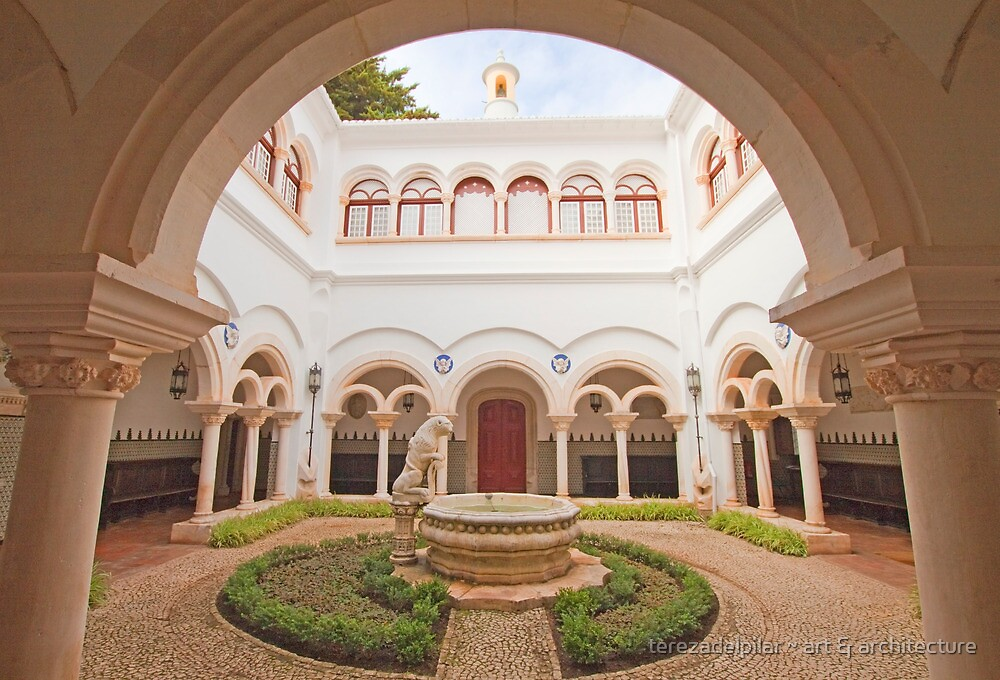 the cloister in the palace by terezadelpilar~ art & architecture