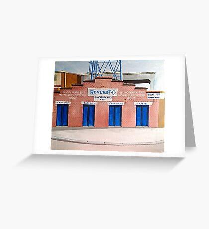 Blackburn Rovers - Ewood Park Greeting Card