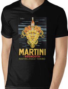 Martini Mens V-Neck T-Shirt