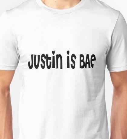 Justin Bieber is BAE Unisex T-Shirt