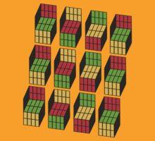 Geek Cubes by r3ddi70r