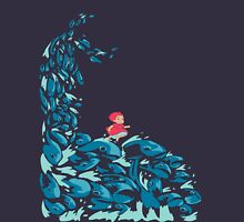 Ponyo on the t-shirt Unisex T-Shirt