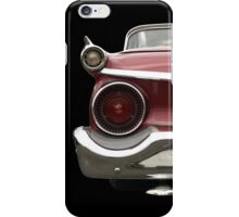 Back (red) iPhone Case/Skin