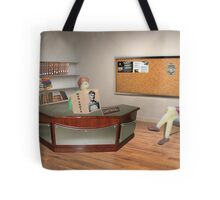 If you want to become a detective Sally, you've got to stop referring to this as Facebook! Tote Bag