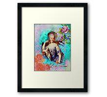 Marie Antoinette - Let them eat cupcake Framed Print