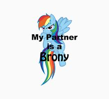 My Partner is a Brony Womens Fitted T-Shirt