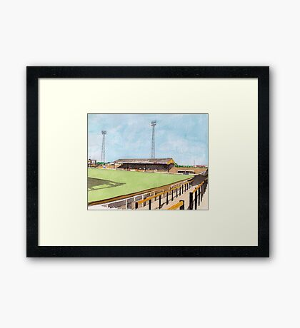 Hull City - Boothferry Park Framed Print