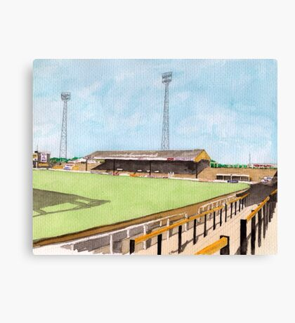 Hull City - Boothferry Park Canvas Print
