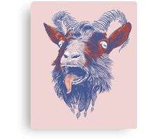 Rock Goat Canvas Print