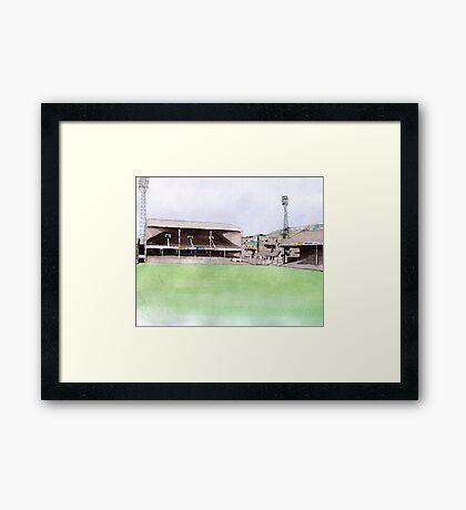 Swansea City - Vetch Field Framed Print