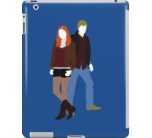 Amy and Rory - Doctor Who iPad Case/Skin