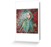 The word's carrier... Greeting Card