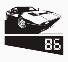 80s Sports Car T-shirt by Nasherr