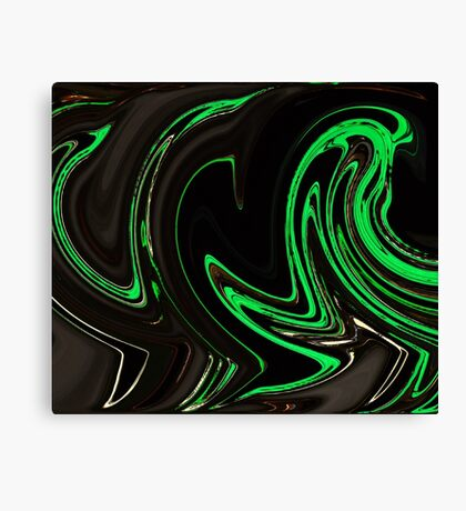 Psychedelic Graffiti Canvas Print