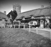Godshill - I.O.W. BW by Colin  Williams Photography