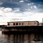 Old House Boat Poole Harbour by delros