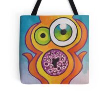 homer's scream Tote Bag