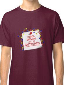 TARDIS Sign - DW Christmas Special Classic T-Shirt