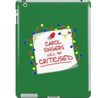 TARDIS Sign - DW Christmas Special iPad Case/Skin