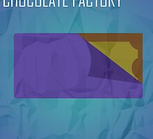 Minimalist Collection - Charlie and the Chocolate Factory by Jamie Candlin