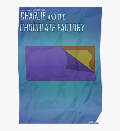 Minimalist Collection - Charlie and the Chocolate Factory Poster