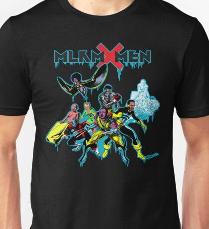Malcolm X-Men Assemble Unisex T-Shirt