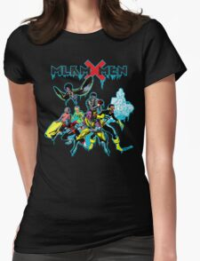 Malcolm X-Men Assemble Womens Fitted T-Shirt