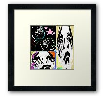 playing tuba for the march hare 3 Framed Print