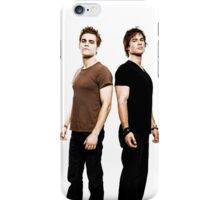 SALVATORE BROTHERS THE VAMPIRE DIARIES iPhone Case/Skin