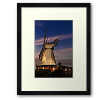 New Mill 1869 Framed Print