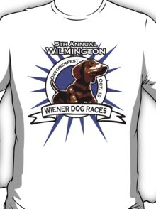 5th Annual Wilmington Wiener Dog Races T-Shirt