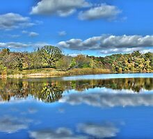Autumn at the Lake 3 by Jimmy Ostgard