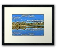 Autumn at the Lake 3 Framed Print
