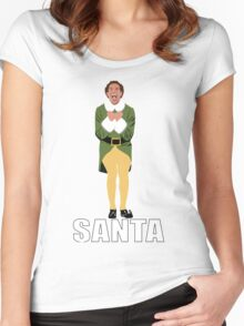 Buddy the Elf Women's Fitted Scoop T-Shirt