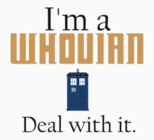 Deal with it: Doctor Who by Adam Dens