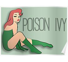 Pin Up Poison Ivy Poster