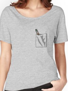 Sonic In My Pocket V.11 Women's Relaxed Fit T-Shirt