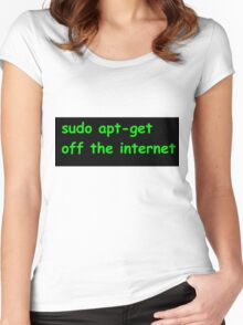 Sudo Women's Fitted Scoop T-Shirt